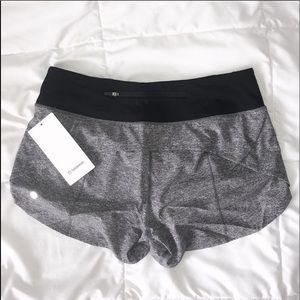 """BNWT lululemon Speed Up Shorts 4"""""""